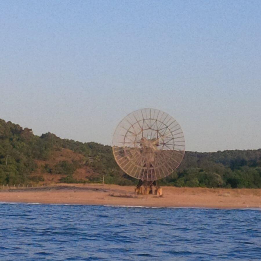 Radar Antenna Riva Beach